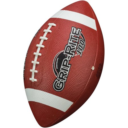 Franklin Sports Grip-Rite 100 Junior Rubber Football](Baltimore Ravens Football)