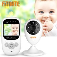 "Fitnate 2.4""LCD Video Baby Monitor Camera Night Vision Audio"