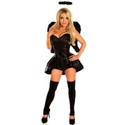 a429ddacb18 Daisy Corsets Top Drawer 4 PC Dark Angel Sexy Women s Costume