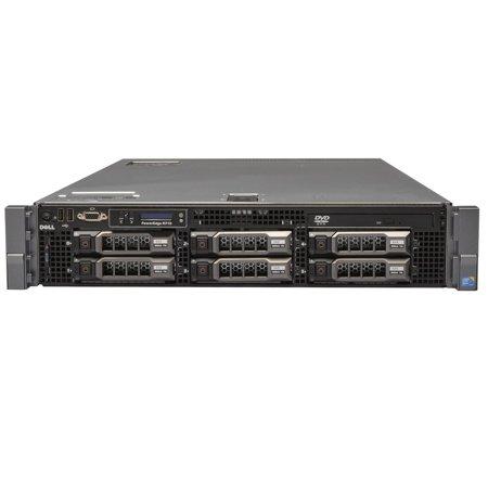 Refurbished Dell PowerEdge R710 LFF E5506 Quad Core 2.13Ghz 18GB 3x 500GB (Dell Poweredge 2600 System)