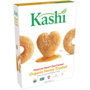 (2 Pack) Kashi Heart to Heart Organic Oat Cereal, Honey Toasted, 12 Oz