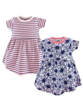 Organic Short Sleeve Dresses, 2-pack (Toddler Girls)