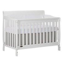Slumber Baby Ashton Full Panel Convertible 5 in 1 Crib, White