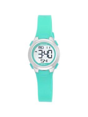 Armitron Round Digital Teal Sport Watch