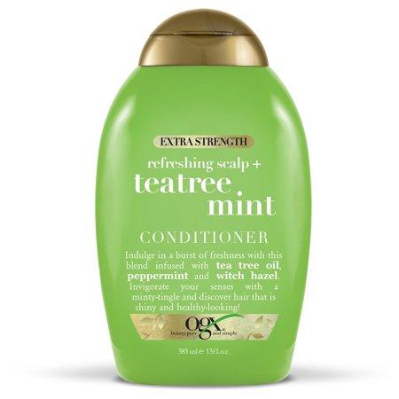 Mint Invigorating Hydrating Conditioner - OGX Extra StrengthTea Tree Mint Conditioner 13oz