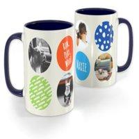 Blue Photo Mug 11 oz