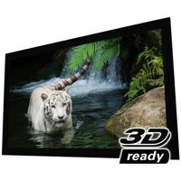 Elunevision White Fixed Frame Projection Screen