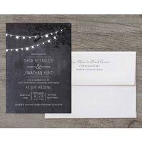 Wedding Glow Deluxe Wedding Invitation
