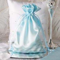 "Efavormart 60PCS Satin Gift Bag Drawstring Pouch Wedding Favors  - 6""x 9"""
