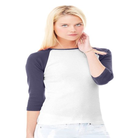 Women's 3/4 Sleeve Baseball T-Shirt ()