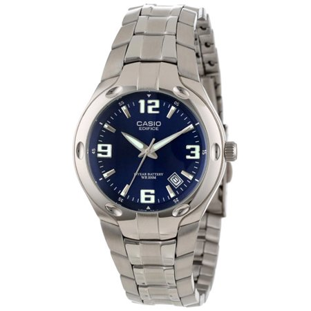 Beetle Dial Watch (Men's Blue Dial, 10-Year Battery Watch )