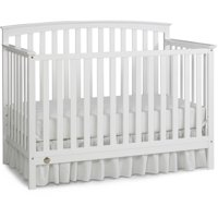 Fisher-Price Jesse 4-in-1 Convertible Crib, Snow White