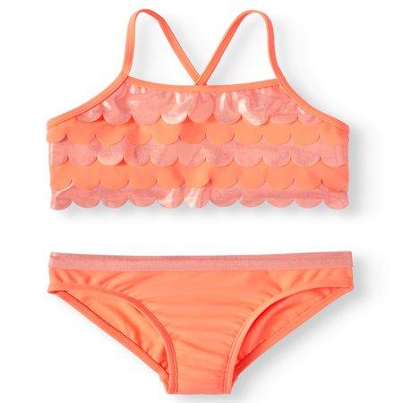 Ruffled Bikini Swimsuit (Little Girls & Big Girls) - Hurley Girls Swimwear