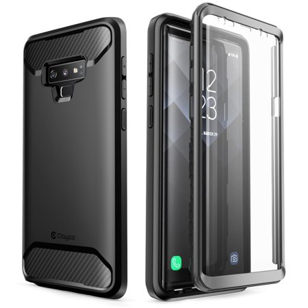 Samsung Galaxy Note 9 Case, Clayco [Xenon Series] Full-body Rugged Case with Built-in 3D Curved Screen Protector for Samsung Galaxy Note 9 (2018