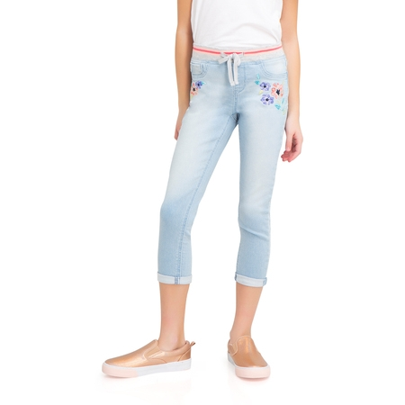 Knit Denim Crop Pant (Little Girls, Big Girls & Big Girls Plus)