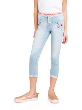 Knit Denim Crop Pant (Little Girls, Big Girls & Big Girls Plus)