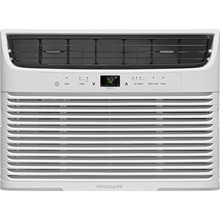 Long Air (Frigidaire 12,000 BTU 115V Window-Mounted Compact Air Conditioner with Remote Control )