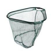 Unique Bargains 15.7 x 15.7 x 13.8 Fishing Landing Net Fish Angler Mesh for Fishermen Green