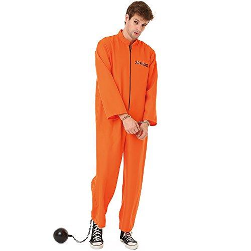 Convict man teen costume commit