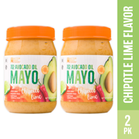 BetterBody Foods Avocado Oil Mayonnaise with Chipotle Lime, 15 Oz (2 Pack)
