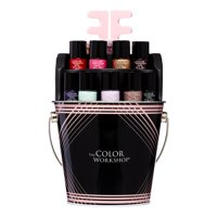 The Color Workshop Nail Pail Nail Polish Gift Set, 15 Pieces ($20 Value)