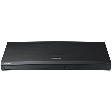 SAMSUNG 4K Ultra-HD Blu-ray & DVD Player with HDR and WiFi Streaming -