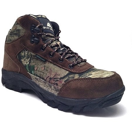 Gore Lace Hiking Boots (Ozark Trail Men's Mid Camouflage Hiking Boot)