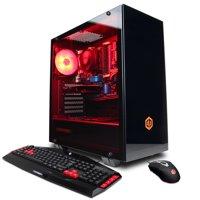 CYBERPOWERPC Gamer Master GMA2288W w/ AMD Ryzen 7 1700, AMD Radeon RX 560 2GB, 8GB Memory, 480GB SSD, WiFi and Windows 10 Home 64-bit Gaming PC