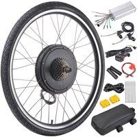 "26""x1.75"" 48V Rear Wheel Electric Bicycle Motor Conversion Kit 1000W E-Bike Cycling Hub"