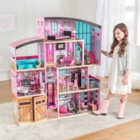 KidKraft Wooden Dollhouse Shimmer Mansion for 12 Inch Dolls