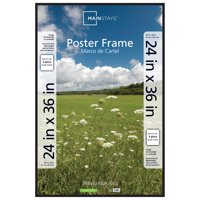 Mainstays 24x36 Thin Poster and Picture Frame, Black