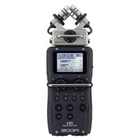 Zoom H5 Portable Handy 4 Track Interchangeable Digital Audio Recorder System
