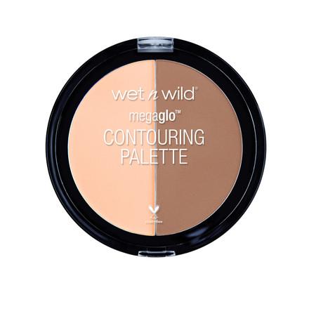 wet n wild MegaGlo Contouring Palette, Dulce De (Sleek Face Form Contouring And Blush Palette)