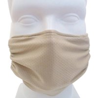 Breathe Healthy Reusable Antimicrobial Mask for Dust, Pollen and Germs - Beige