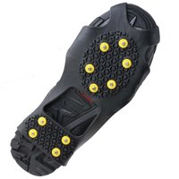 Image Ice Cleats Snow Grips Anti Slip Walk Traction Shoes Chains Crampons