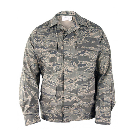 Men's ABU Airmans Battle Uniform Army Tactical Coat - Tiger Stripe (Army Field Uniform)