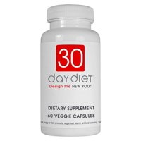 Creative Bioscience 30 Day Diet Rapid Weight Loss Pills, Veggie Ctules, 60 Ct