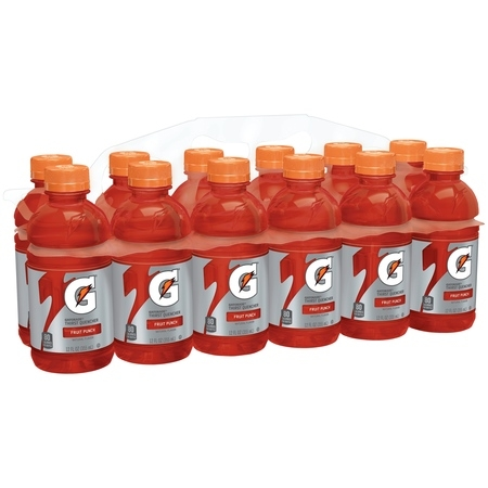 Gatorade Thirst Quencher, Fruit Punch, 12 oz Bottles, 12 Count](Make Halloween Fruit Punch)