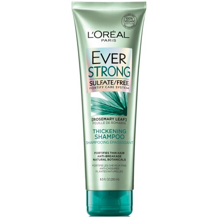 Thickening Shampoo 8 Oz Bottle (L'Oreal Paris EverStrong Thickening Shampoo 8.5 FL OZ)