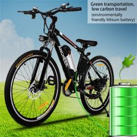 "ANCHEER 26"" Foldable Mountain Bike Electric Power Bicycle Damping with Lithium-Ion Battery 36V"