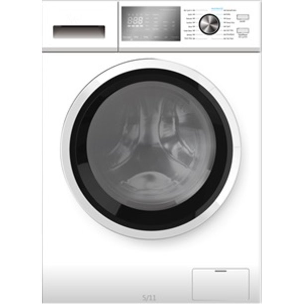 RCA 2.7 cu ft Front Loading Combo, White