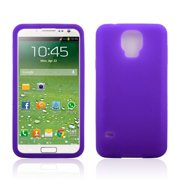 Zeimax® Samsung Galaxy S5 V i9600 TPU Silicone Case Purple (AT&T, Verizon,