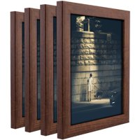 Craig Frames Contemporary Honey Brown Picture Frame, Set of 4