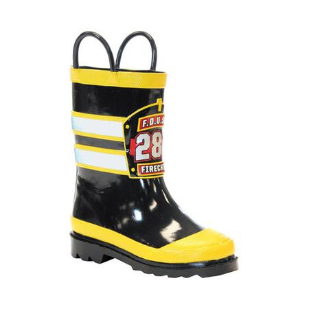 Boys' Western Chief F.D.U.S.A. Firechief Rain Boot](Baby Western Boots)