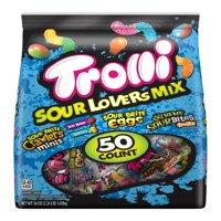 Trolli Sour Lovers Mix Gummi Candies, 36 Oz., 50 Count