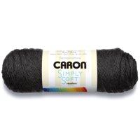 Caron Simply Soft Brights Yarn, 6 ounce, Charcoal Heather