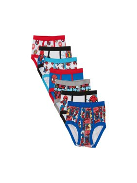 Spider-Man Toddler Boys Underwear, 7 Pack