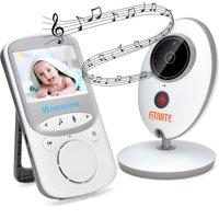 Wireless Video Baby Monitor (Larger 2″ Monitor) Digital Camera Night Vision Temperature Monitor