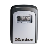 Master Lock Lock Box 5401D Set Your Own Combination Wall Mount Key Safe, 3-1/4 in. Wide
