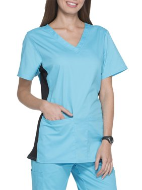 Scrubstar Women's Premium Collection V-Neck Flex Stretch Scrub Top